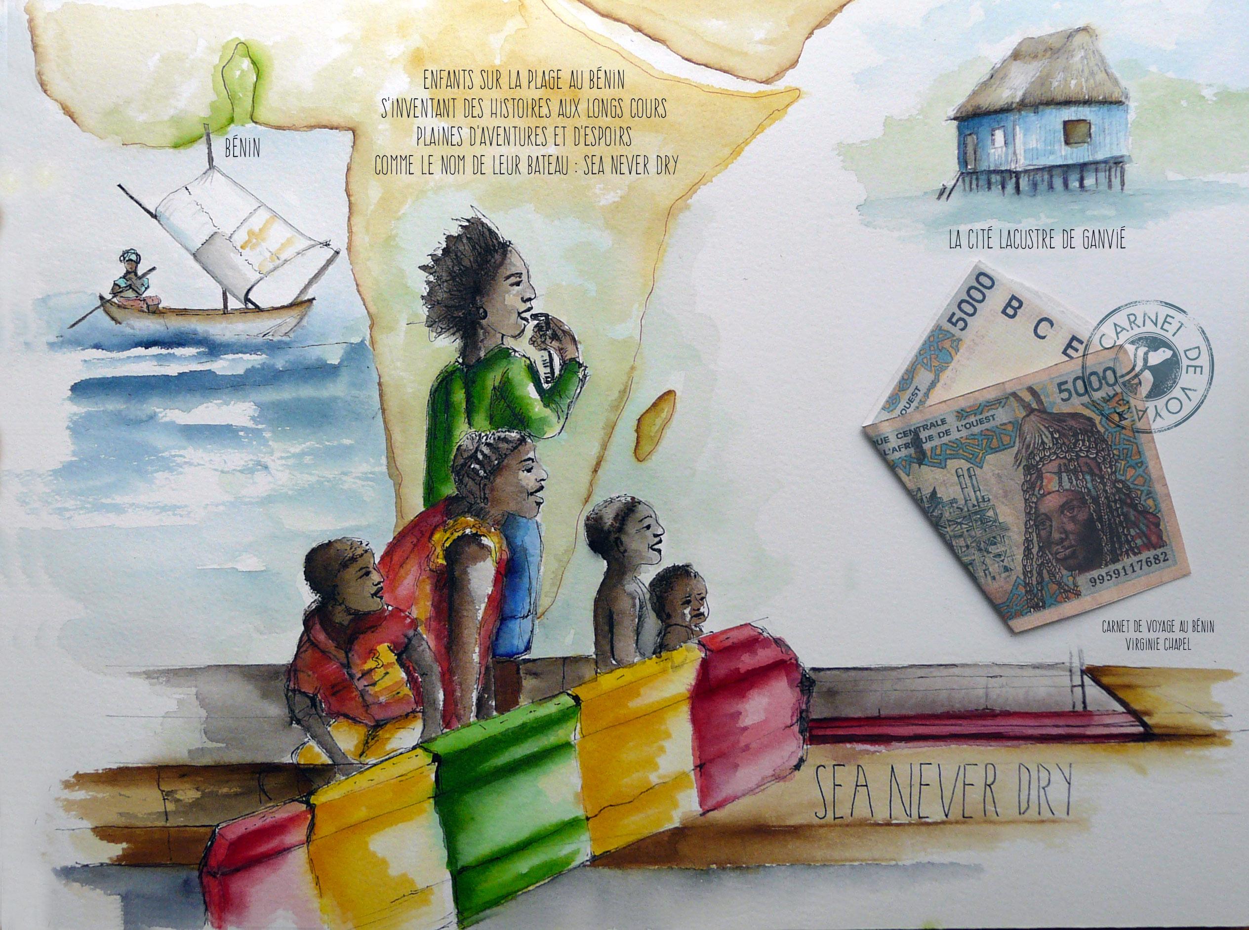 Carnet du Bénin
