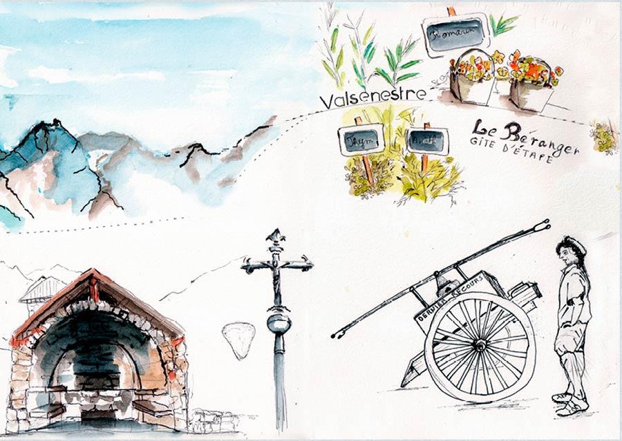 Carnet de route dans le parc National des Écrins
