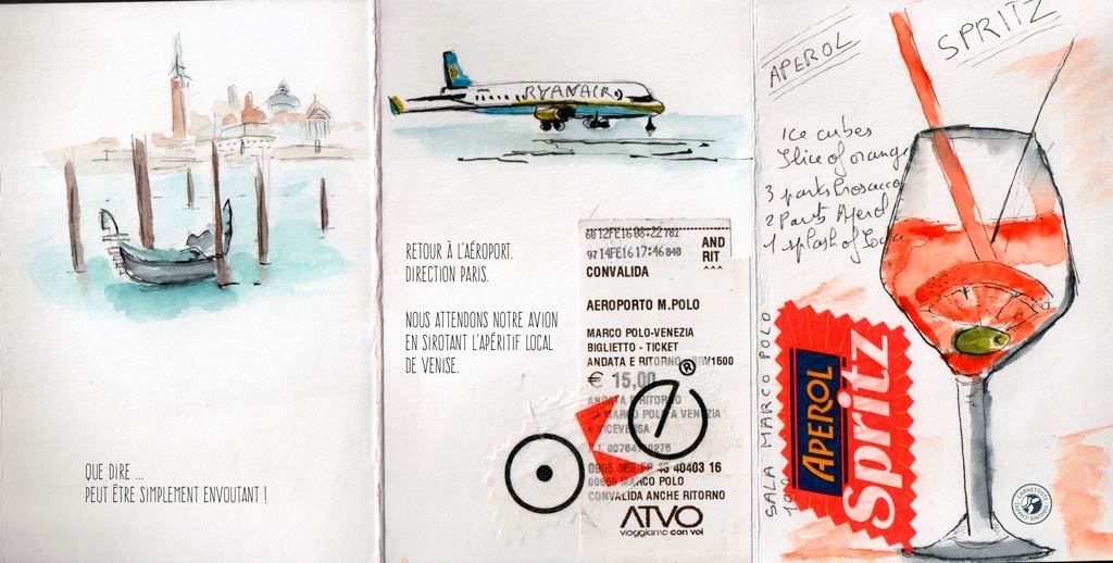 Carnet de voyage à Venise